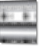 Grid Trap 2 Metal Print
