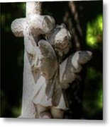 Angel Hug Metal Print