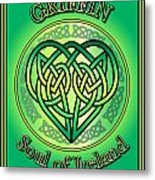 Griffin Soul Of Ireland Metal Print