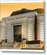 Griffith Observatory - Mike Hope Metal Print