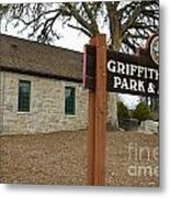 Griffith Quarry Park And Museum Penryn California Metal Print