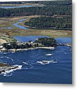 Griffiths Head At Reid State Park, Five Metal Print