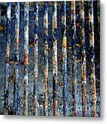 Grill Abstract Metal Print