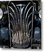 Grill And Headlights Metal Print