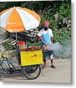 Grill-to-go Metal Print