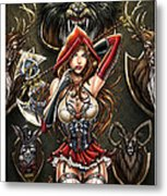 Grimm Myths And Legends 01e - Red Riding Hood Metal Print by Zenescope Entertainment