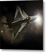 Gripen Light Metal Print