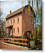 Grist Mill In Deep River County Park Metal Print