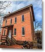 Grist Mill In Northwest Indiana Metal Print