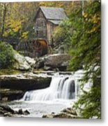 Grist Mill No. 2 Metal Print by Harry H Hicklin