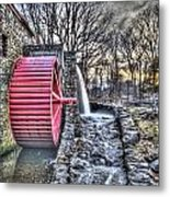 Grist Mill Sudbury Metal Print by Adam Green