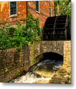 Grist Mill Metal Print by Thomas Woolworth