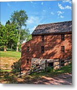 Gristmill At The Farmstead Metal Print