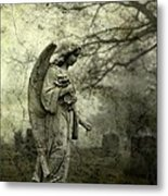 Dark And Gritty Fog Metal Print