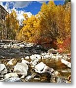 Grizzly Creek Canyon Metal Print