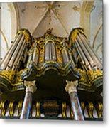 Groningen Pipe Organ Metal Print