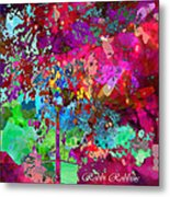 Groovy Day Metal Print