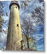Grosse Point Lighthouse Color Metal Print