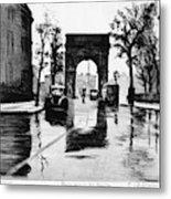 Grossman Square, C1940 Metal Print