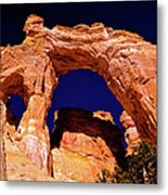 Grosvenor Arch Sunset Kodachrome Basin Metal Print