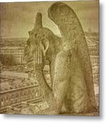 Grotesque From Notre Dame Metal Print