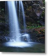 Grotto Falls Great Smoky Mountains Metal Print