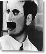 Groucho Marx Metal Print