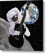 Ground Control To Major Tom Metal Print
