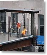 Ground Zero Construction Metal Print