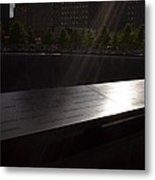 Ground Zero Memorial Three Metal Print