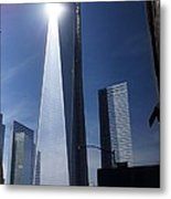 Ground Zero New York Metal Print