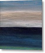 Grounding By The Sea Metal Print