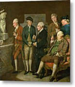 Group Of Connoisseurs Metal Print