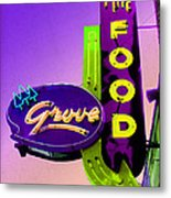 Grove Fine Food Var 2 Metal Print