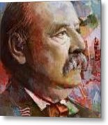 Grover Cleveland Metal Print
