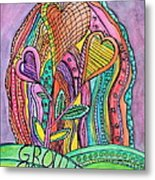 Grow In Grace Metal Print