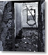 Growing Out Of Ruin Metal Print by Mike  Dawson