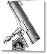 Grubb Equatorial Telescope, Hungary Metal Print by Science Photo Library