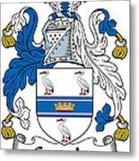 Grumley Coat Of Arms Irish Metal Print