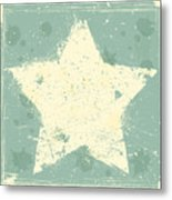 Grunge Background Metal Print