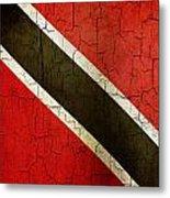 Grunge Trinidad And Tobago Flag Metal Print