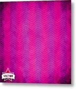 Grunge Vector Wallpaper Metal Print