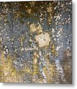 Grungy Cement Wall Metal Print