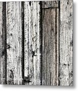 Grungy Old Wood Background Metal Print