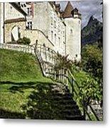Gruyeres Castle Metal Print