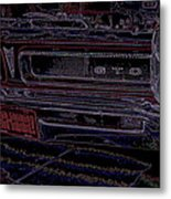 Gto Car Art Metal Print