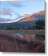 Guadalupe Mountains Sunrise Metal Print