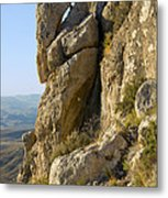Guadalupe Peak Trail Metal Print