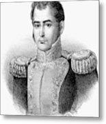 Guadalupe Victoria (1789-1843) Metal Print