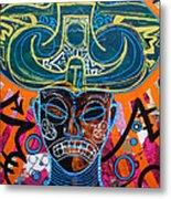 Guami Ke Ni Lord Of Earth And Water Metal Print